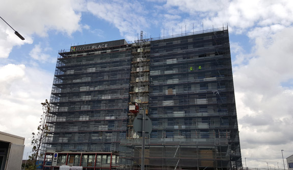 Juttla Architects - News - Hyatt Place Construction On Track