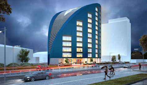 Hyatt House render